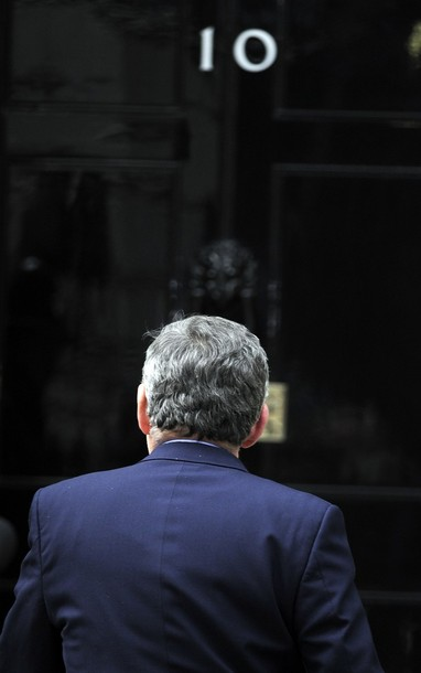 Gordon Brown 10 Downing