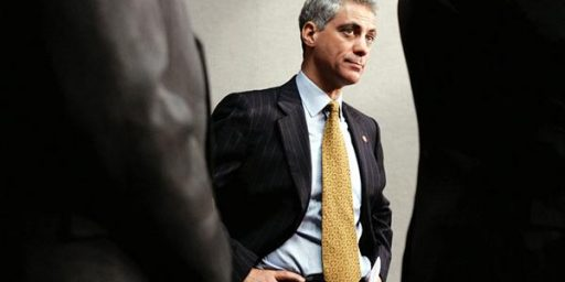 Report: Rahm Emanuel To Leave White House After November Elections