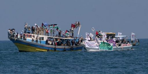 More Aid Ships Headed To Gaza, And Possibly The Turkish Navy As Well
