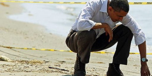 Obama Gets Failing Grade On Oil Spill Response