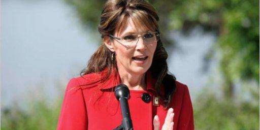 Endorsement By Sarah Palin Seen As A Negative, Poll Shows