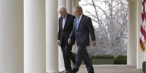 Bill Clinton More Popular Than George W. Bush