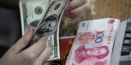 China Revalues RMB! (A Teeny Bit)