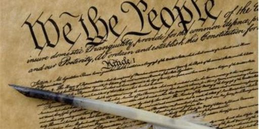 Does The Constitution Need A Warning Label?