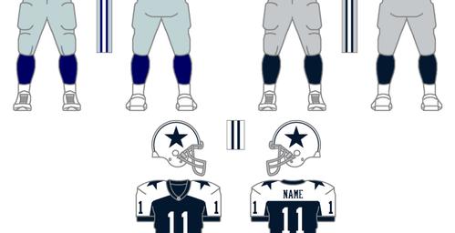 Dallas Cowboys Uniform Change