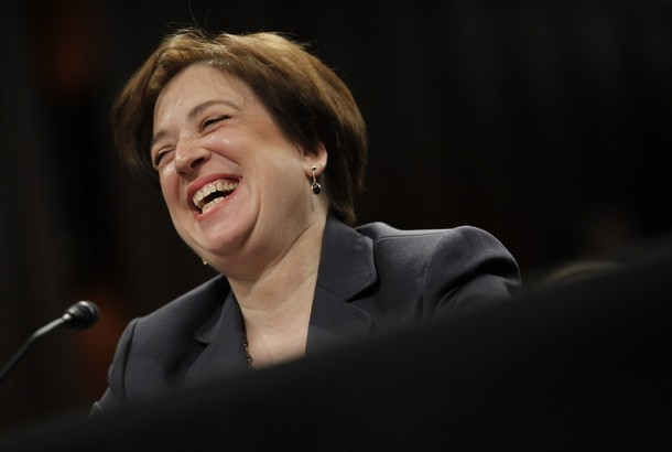 Elena Kagan Confirmation Laughing