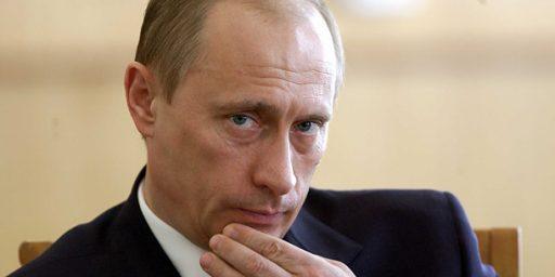 Vladimir Putin Hints At Return To Russian Presidency In 2012