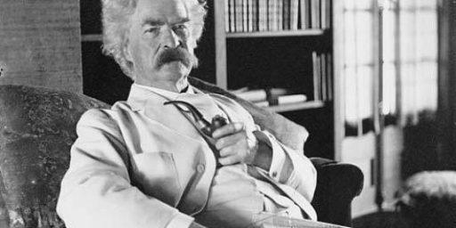 Mark Twain Autobiography Reveals Political Side