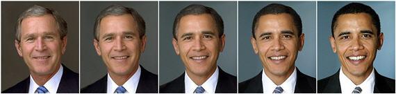 bush-obama-morph