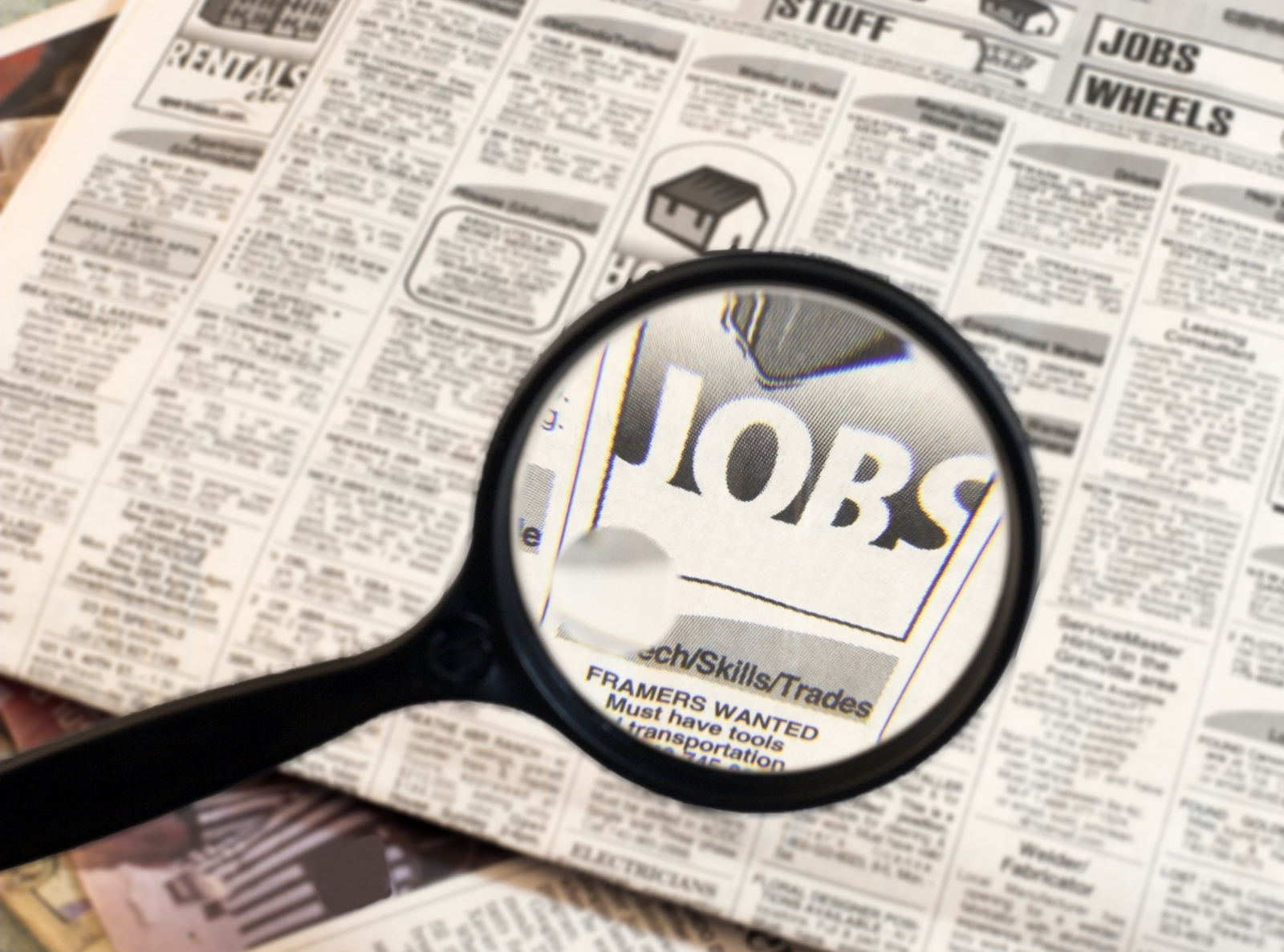 jobs-want-ads-magnifying-glass