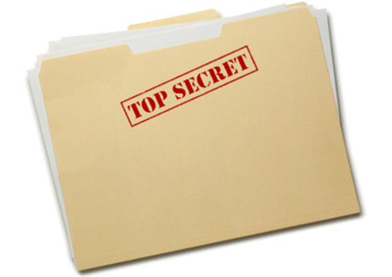 top secret folder