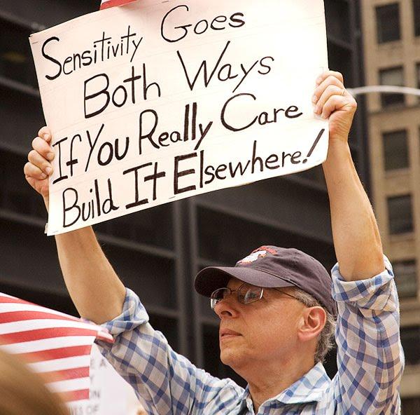 Ground Zero Mosque Protest Sensitivity Goes Both Ways