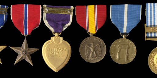 Six Flag No Longer Awards Combat Action Ribbon