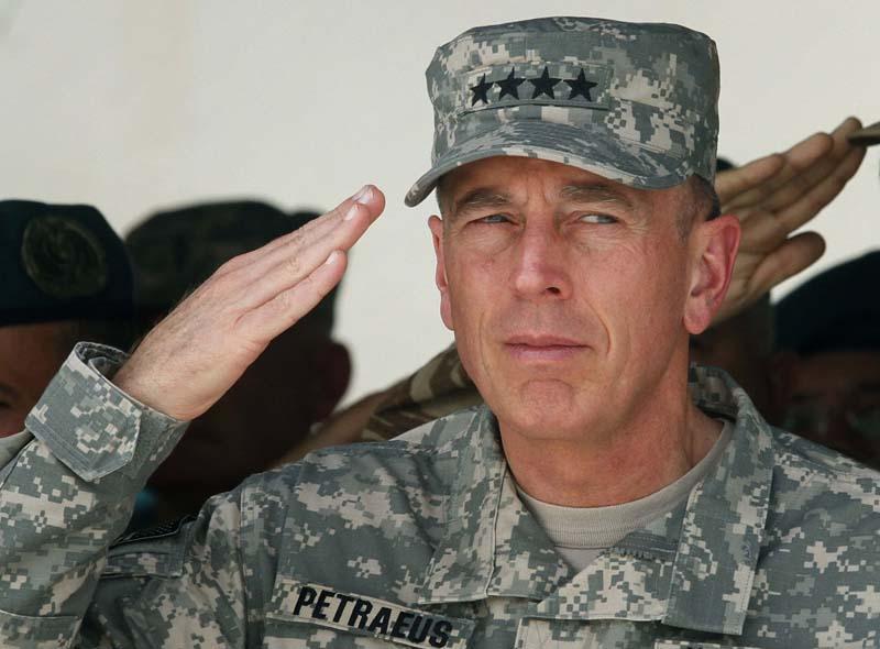 David Petraeus ISAF Change of Command