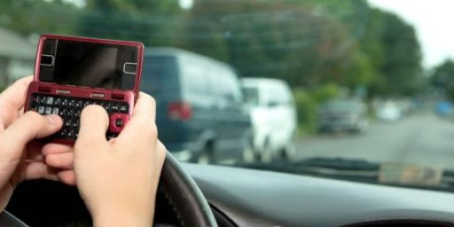 Driving-While-Texting Bans Don't Work