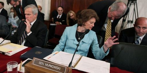 Murkowski Stripped of Committee Post?