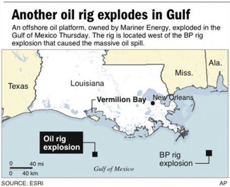 Mariner Oil Spill