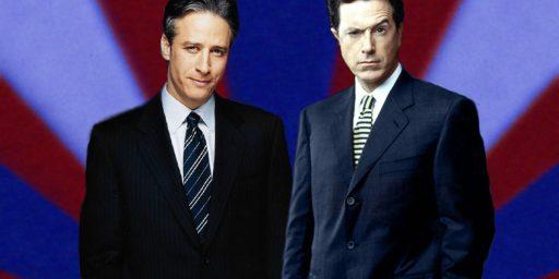 Jon Stewart vs. Stephen Colbert