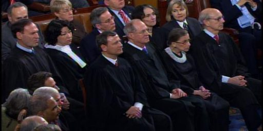 Justice Alito Won't Attend Next State Of The Union