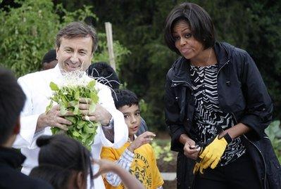 Michelle Obama, Daniel Boulud