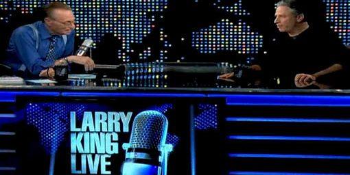 Jon Stewart on Larry King Live