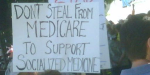 """Blunt Ad Complains of Cutting Medicare...to Support """"Government-Run Health Care"""""""