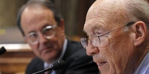 Alan Simpson Fights Back Against Deficit Commission Critics