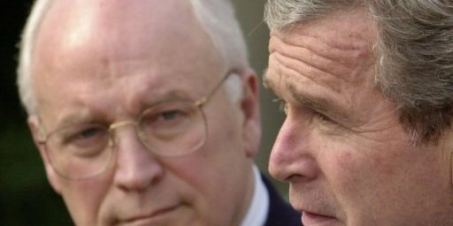 Bush Considered Replacing Cheney As VP Before 2004 Election