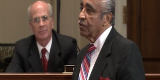 Ethics Committee Recommends Censure For Charlie Rangel