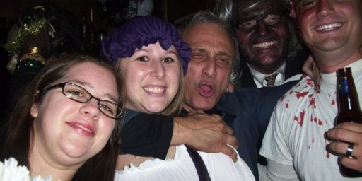 Carl Paladino: Candidate For Governor, Halloween Party Boy