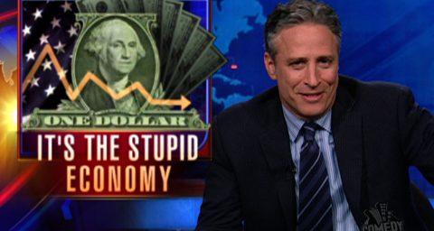 Geithner Briefed Jon Stewart