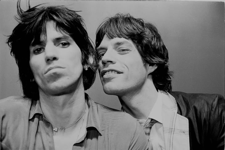 Keith Richards & Mick Jagger Young – Outside the Beltway