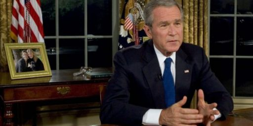 About That Nostalgia For George W. Bush, Let's Not Forget Reality Okay?