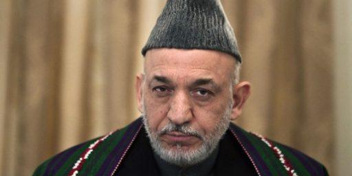 Afghan President: U.S. Should Reduce Military Presence