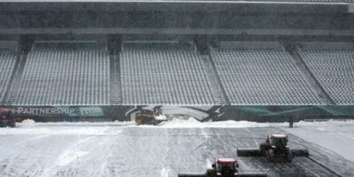 Blizzard Postpones Sunday Night Football: Are We A Nation Of Wimps?