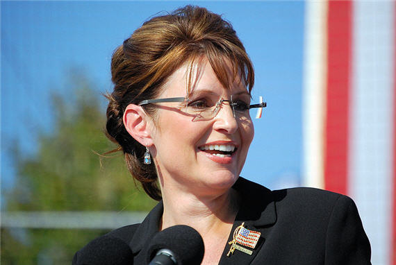 Sarah-Palin-Speaking-Green-Backdrop