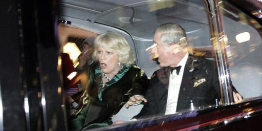 Charles and Camilla Attacked By Protestors