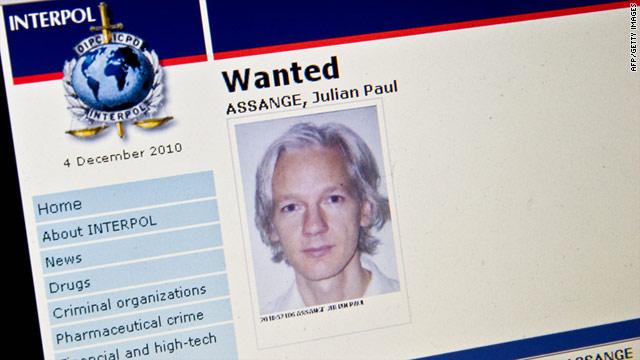 Julian Assange Interpol Warrant