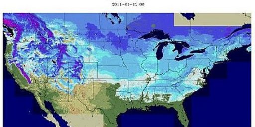 Snow On The Ground In 49 States