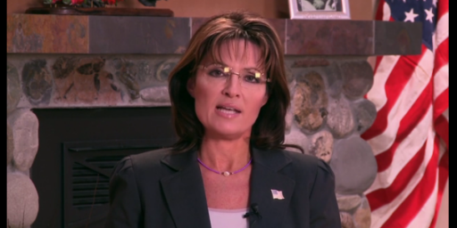 Palin's Missed Opportunity