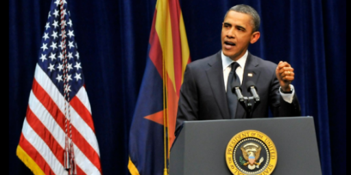 Poll: Obama Gets High Marks For Arizona Response, Sarah Palin Bombs With The Public
