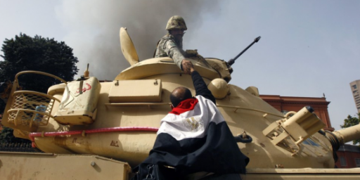 Report: Egyptian Army Says It Won't Use Force Against Protesters