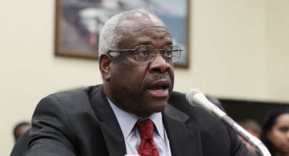 Clarence Thomas has amended 13 years' worth of disclosure reports. | AP Photo