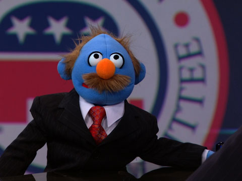 Michael Steele Puppet Daily Show