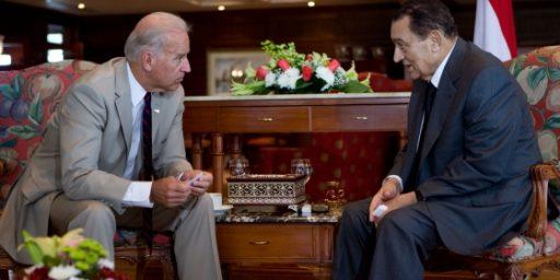 Biden: Mubarak Not A Dictator, But He Needs to Listen To His People