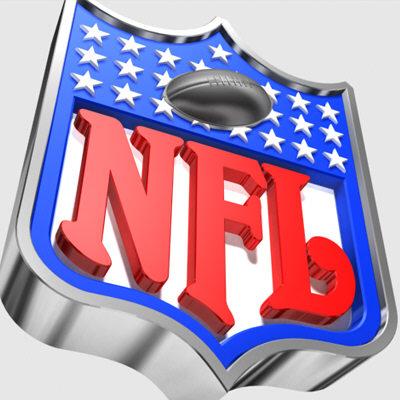 nfl logo stylized