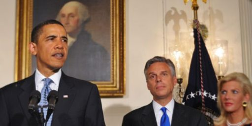 Jon Huntsman Stepping Down As Ambassador To China
