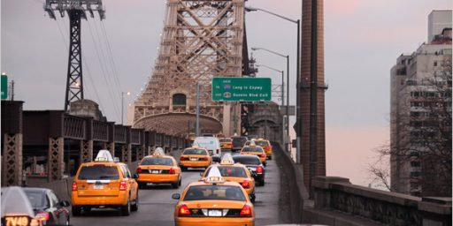 NYC Taxis Disappear at 4