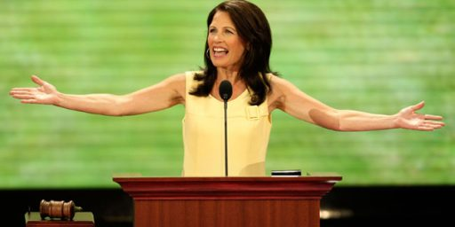 Michele Bachmann Goes Both Ways On Gay Marriage