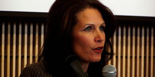 "Michele Bachmann: Schools Should Teach ""Intelligent Design"""